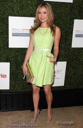 Ashley-Jones-lime-green-dress-heels