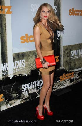 ellen-hollman-sexy-legs-gold-mini-skirt