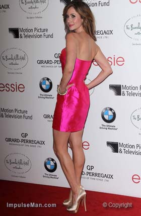 Ashley-Jones-hot-pink-dress-sexy-bare-legs-heels