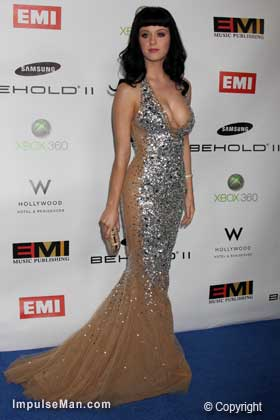 Katy-Perry-big-boobs-silver-sequin-formal